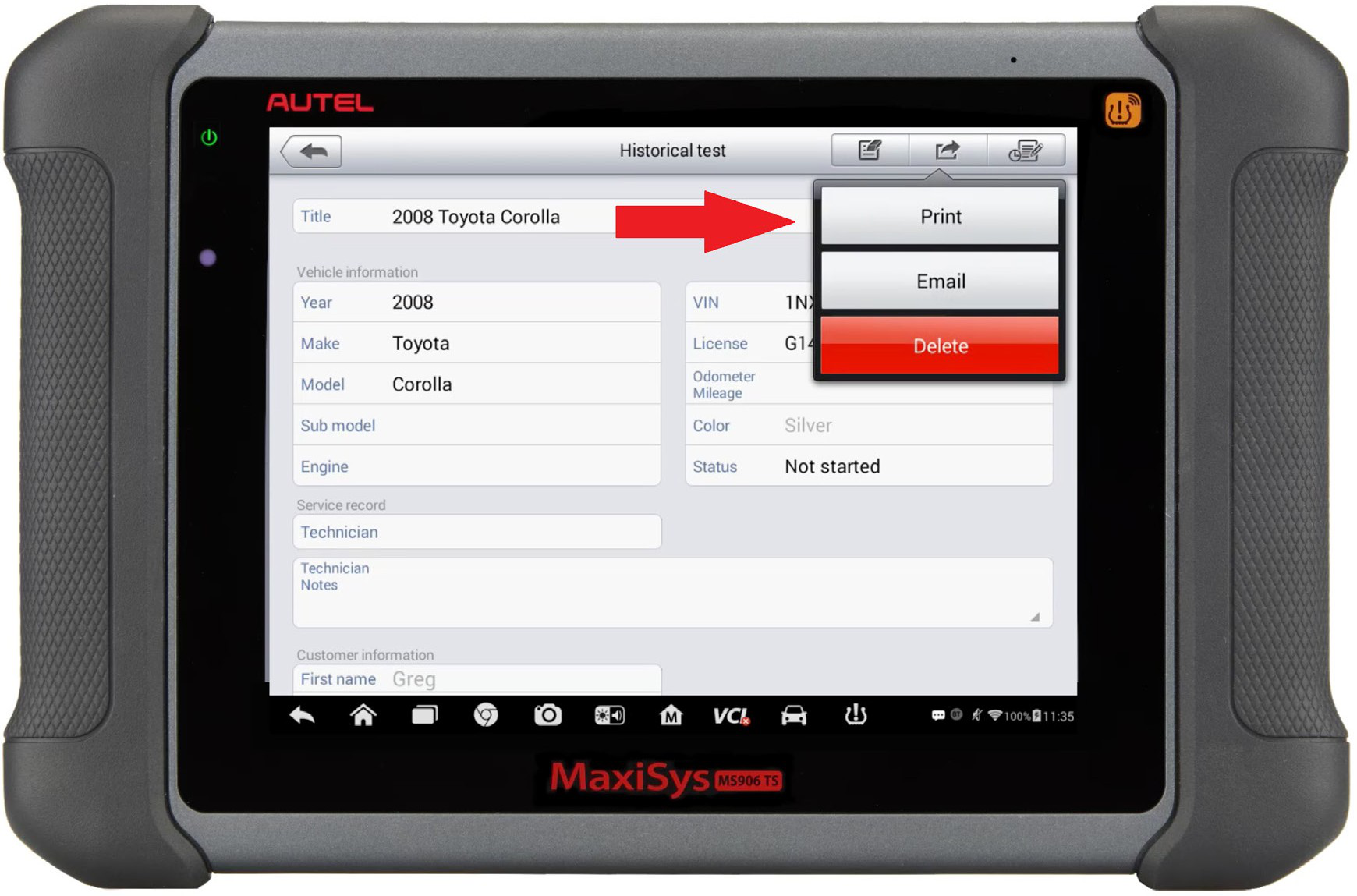 Autel-MaxiSYS-tablet-WIFI-PRINTING-Instruction-Guide-13