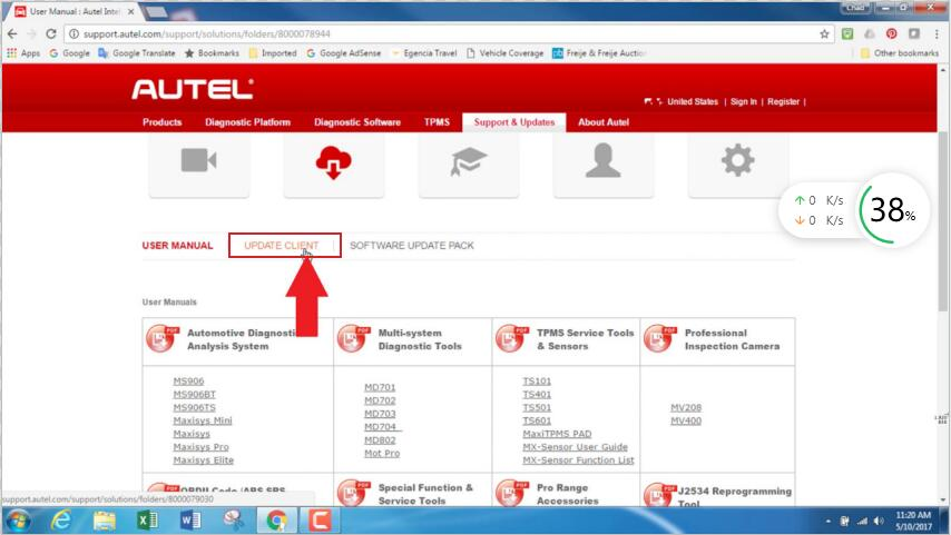 Autel-MaxiSYS-tablet-WIFI-PRINTING-Instruction-Guide-5